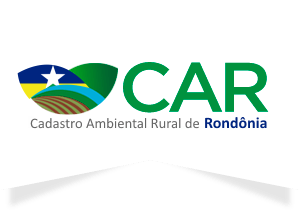 Logotipo do CAR do Rondônia